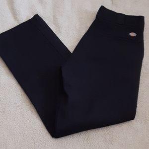 Mens Dickies Pants Black